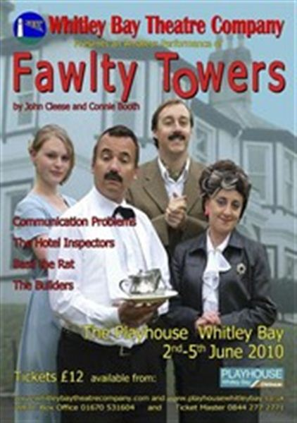 Fawlty Towers presented by Whitley Bay Theatre Company