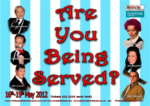 """Are You Being Served?"" presented by Whitley Bay Theatre Company"