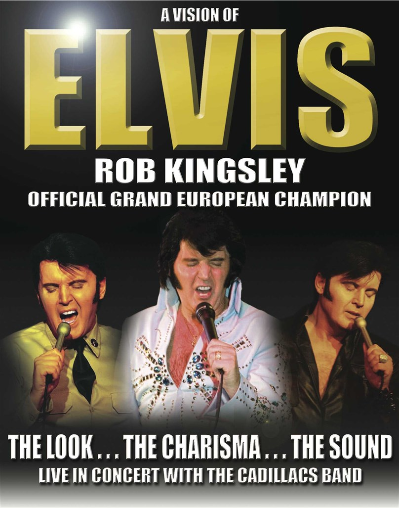 A Vision of Elvis - Rob Kingsley