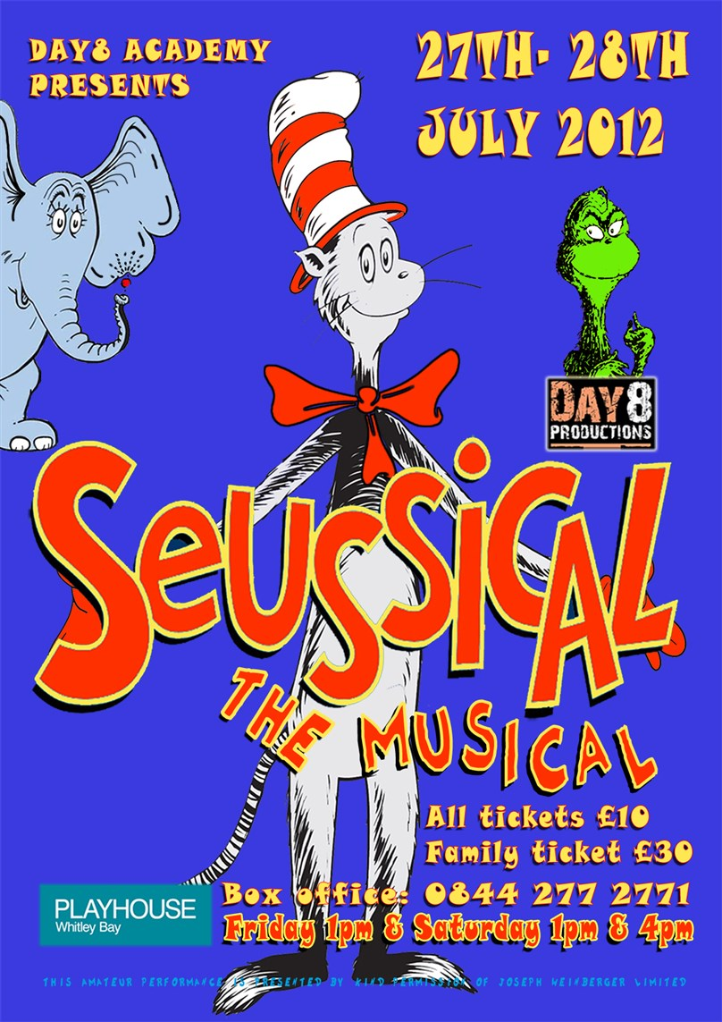 Seussical presented by Day8 Academy