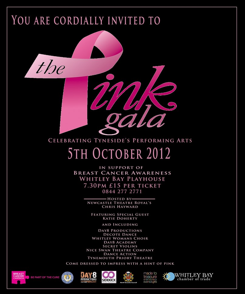 "Day8 Productions present ""THE PINK GALA"" in aid of Breast Cancer Campaign"