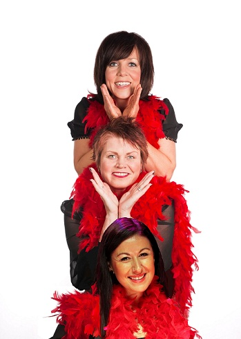 The Vagina Monologues starring Clare Buckfield, Vicky Entwistle & Hayley Tamaddon