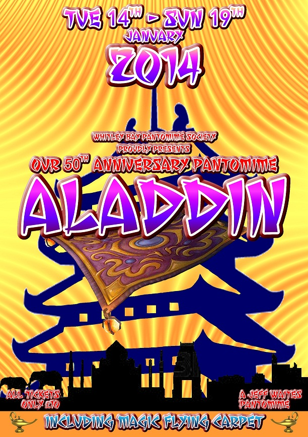Whitley Bay Pantomime Society presents Aladdin