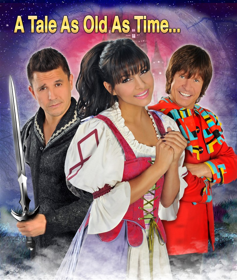 Christmas Pantomime: Blue Genie Entertainment presents 'Beauty & The Beast' *Starring Roxanne Pallett, Jeremy Edwards & Steve Walls*