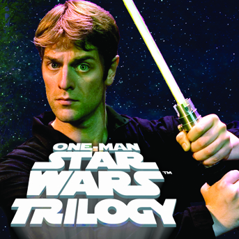 Nick Brooke Ltd presents One Man Star Wars ™ Trilogy