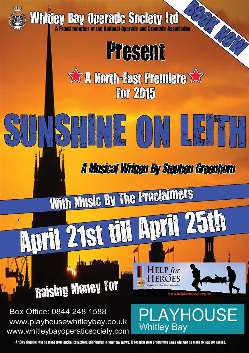 Whitley Bay Operatic Society Presents Sunshine on Leith