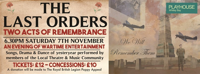 The Last Orders: Two Acts of Remembrance presented by 30Second Productions