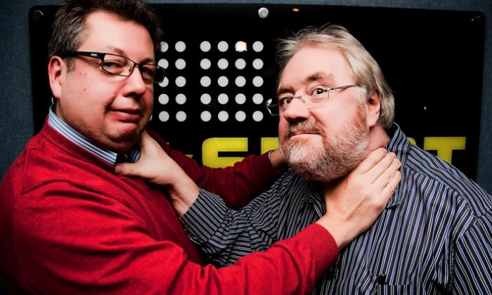 The Two Mikes (Mike Parry & Mike Graham)