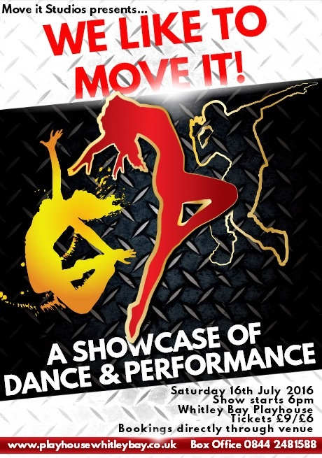 Move It Studios presents 'We Like To Move It'
