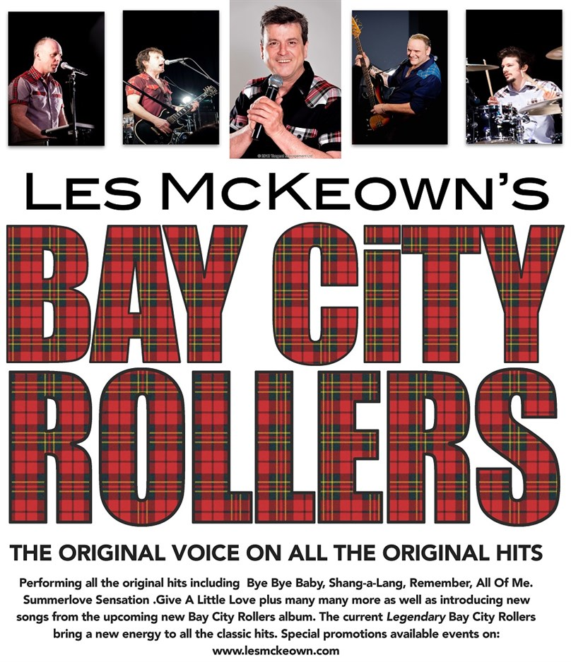 Les McKeown's Bay City Rollers NOW & THEN tour 2016