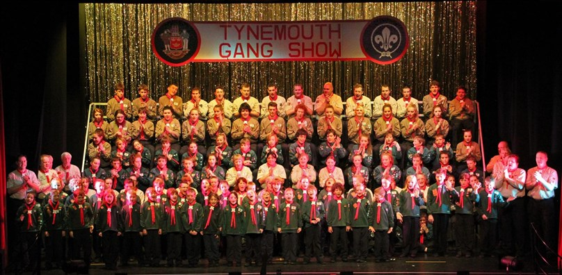 Tynemouth Gang Show 2016 presented by Tynemouth District Scouts
