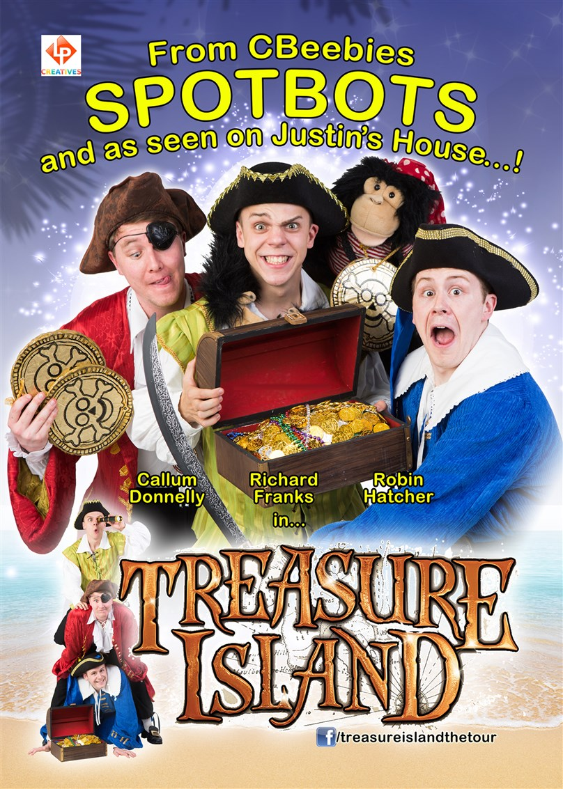 CBeebies SPOTBOTS stars in 'TREASURE ISLAND'