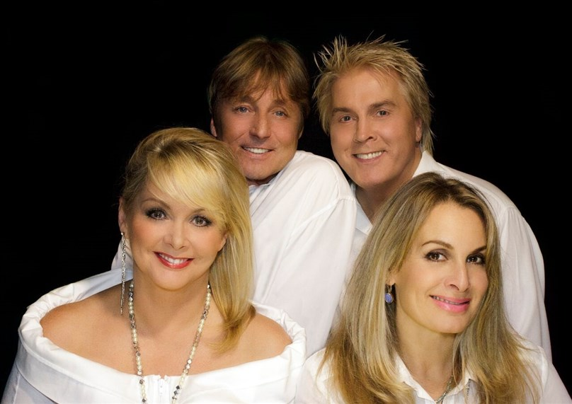 Cheryl, Mike and Jay formerly of Bucks Fizz