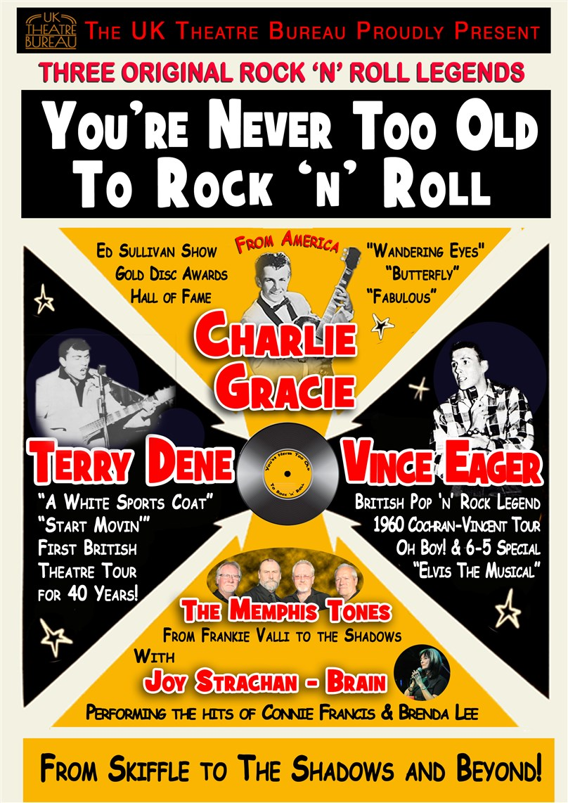 'You're Never Too Old To Rock 'n' Roll' Starring Charlie Gracie, Terry Dene, Vince Eager & More