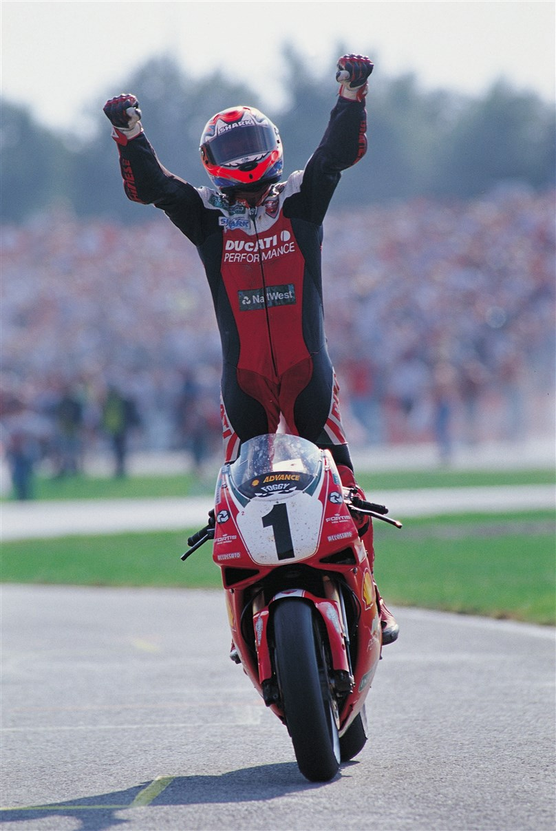 An Evening with Carl Fogarty MBE (World Superbike Legend)