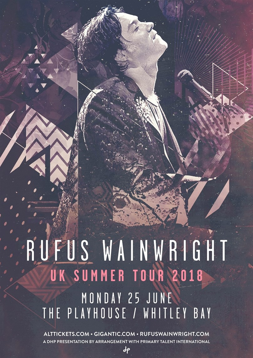 Rufus Wainwright (with support from Nerina Pallot)