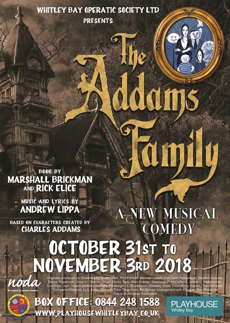 Whitley Bay Operatic Society present 'The Addams Family'