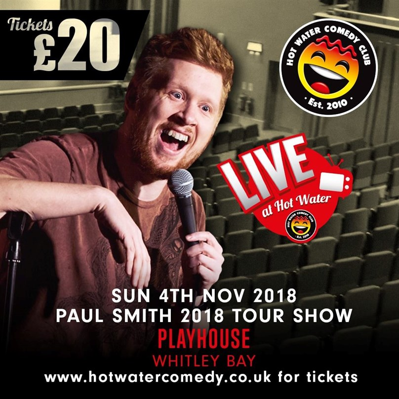 Hot Water Comedy Presents Paul Smith: Hiya Mate