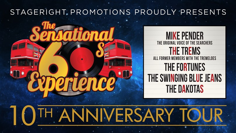 The Sensational 60's Experience 10th Anniversary Tour