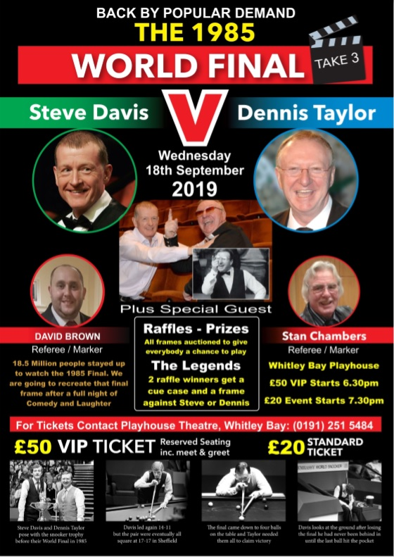 Steve Davis vs Dennis Taylor - The 1985 World Snooker Final (Take 3)