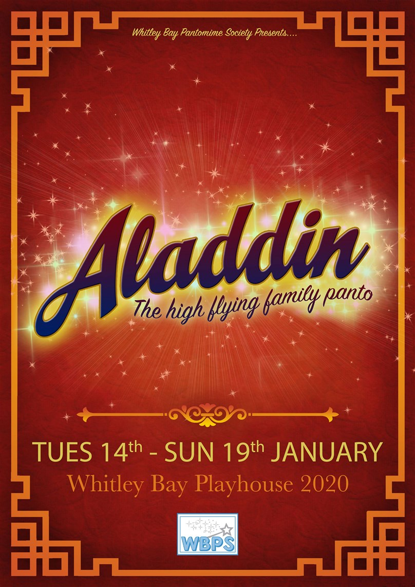 Whitley Bay Pantomime Society Presents 'Aladdin'