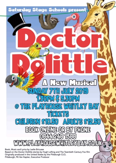 Saturday Stage School Presents Dr Dolittle