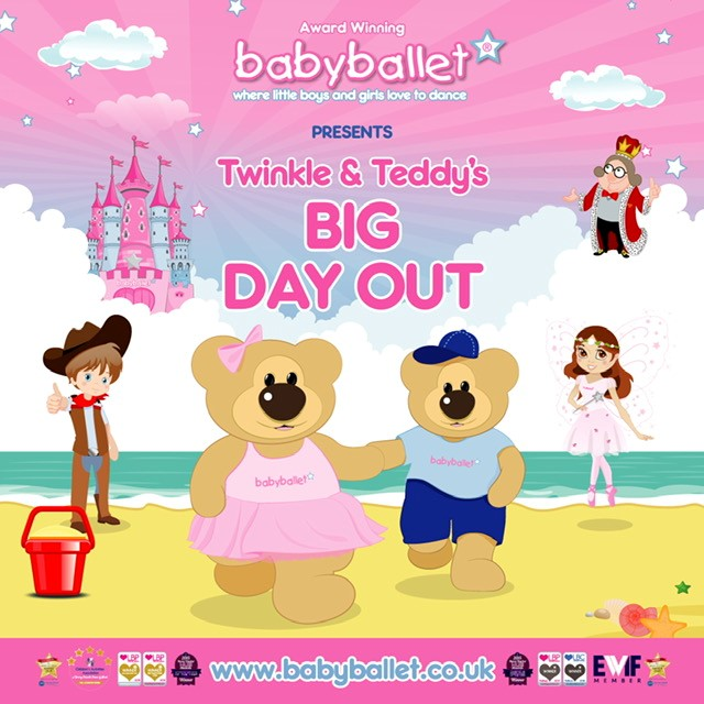 Babyballet North Tyneside Presents 'Twinkle and Teddy's Big Day Out'