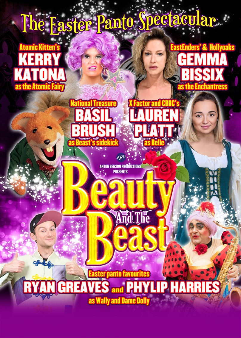 Easter Pantomime: Anton Benson Productions Ltd Presents 'Beauty and the Beast'