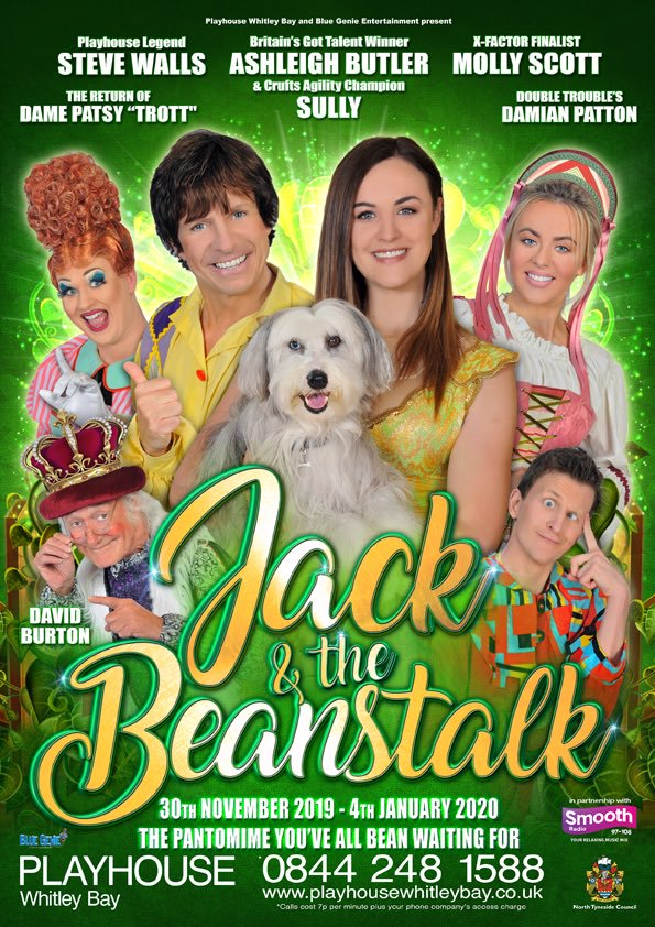 Christmas Pantomime: Blue Genie Entertainment Presents 'Jack & The Beanstalk' with Steve Walls