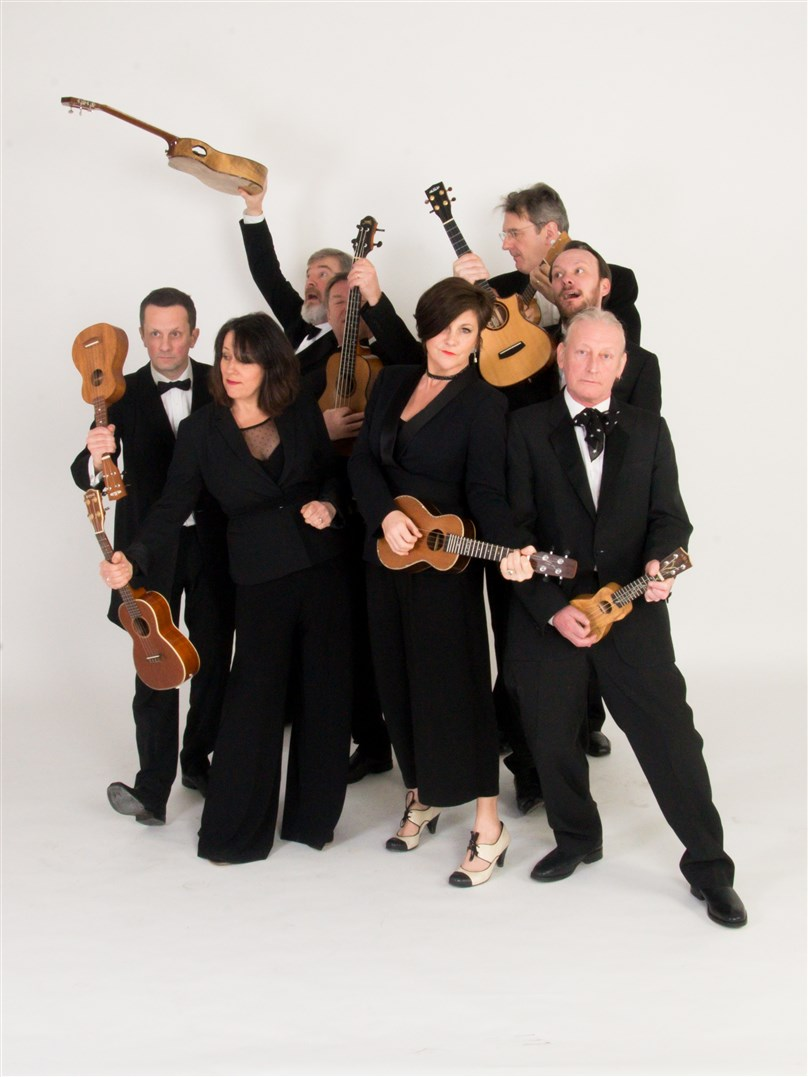 Rescheduled: George Hinchliffe's  Ukulele Orchestra of Great Britain