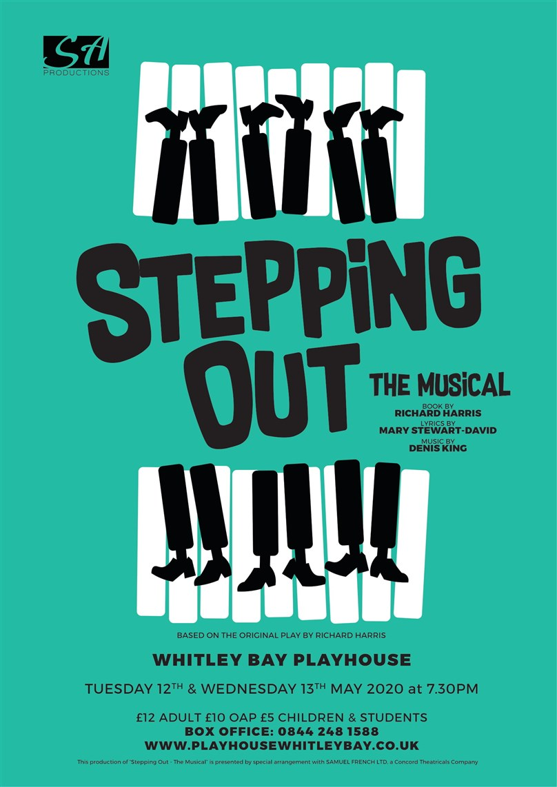 SA Productions presents Stepping Out The Musical