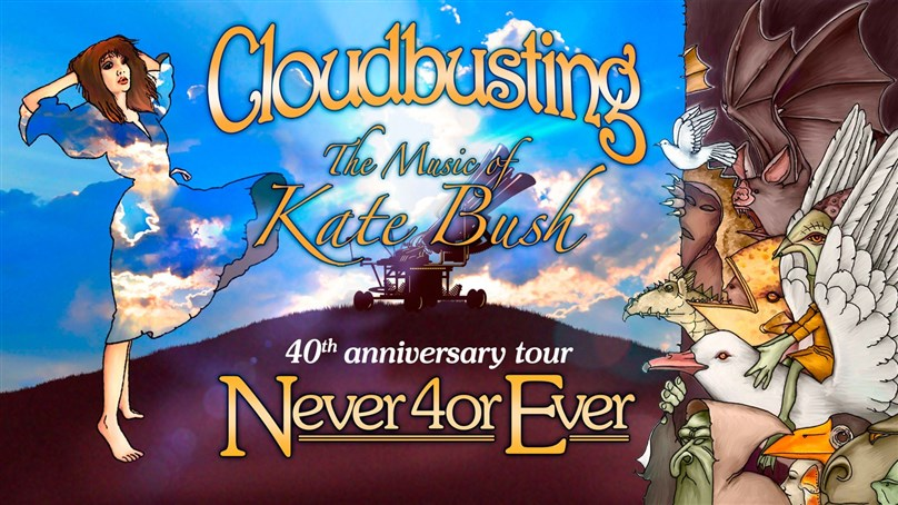 Cloudbusting: The Music of Kate Bush present 'Never 40r Ever'