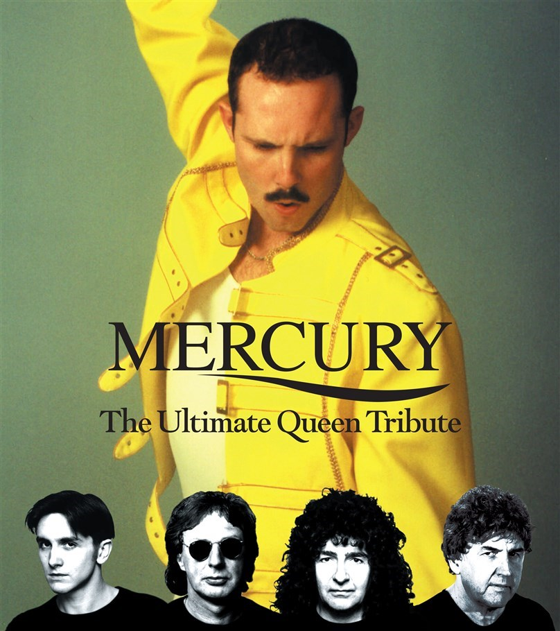 Rescheduled Date: Mercury - The Ultimate Queen Experience