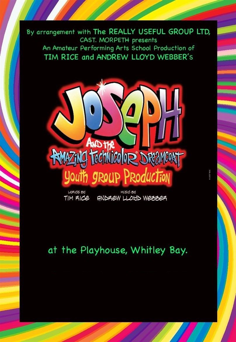 Rescheduled: CAST Academy Morpeth presents Joseph and the Amazing Technicolour Dreamcoat