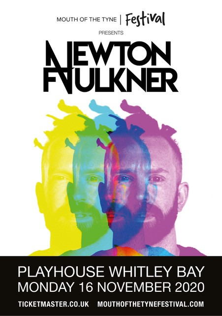 Rescheduled Date: Newton Faulkner Mouth of the Tyne Festival 2020