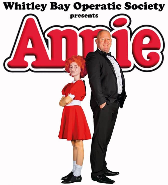 Rescheduled Date: Whitley Bay Operatic Society presents Annie