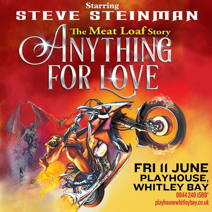 Rescheduled date: Steve Steinman's Anything For Love: The Meat Loaf Story