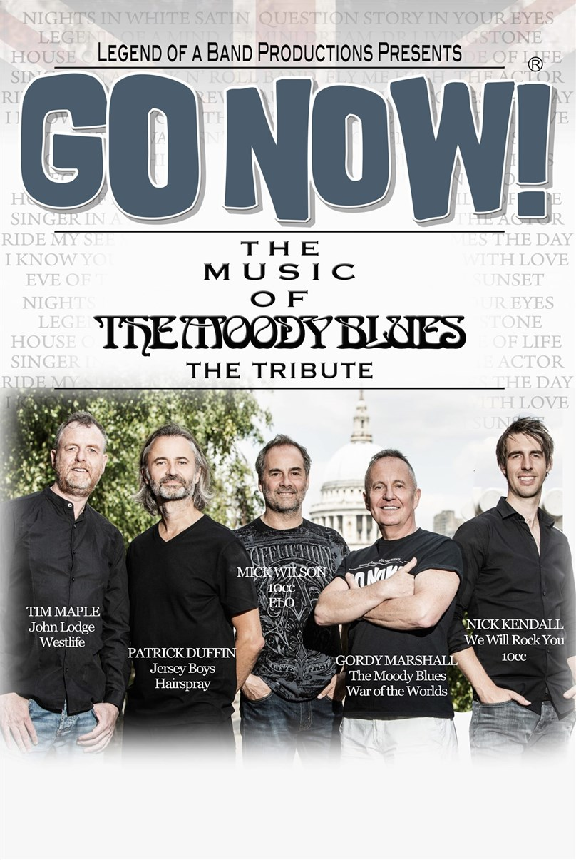 Rescheduled Date: GO NOW! The Music of the Moody Blues