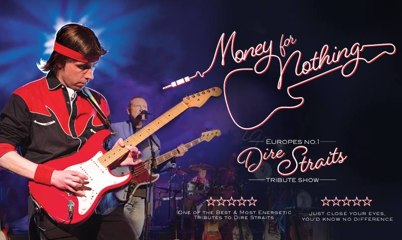 Rescheduled Date: Money For Nothing: Tribute To Dire Straits 20th Anniversary Tour
