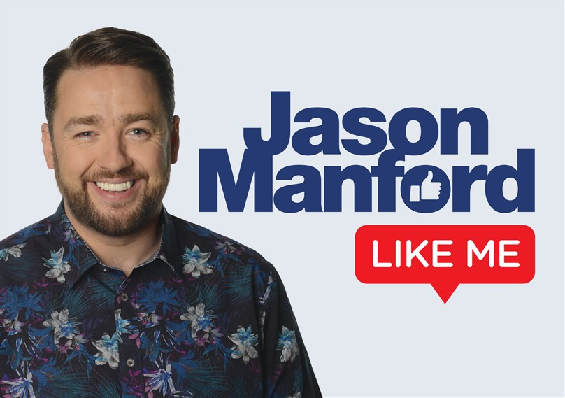 Rescheduled Date: Jason Manford: Like Me - Work in Progress