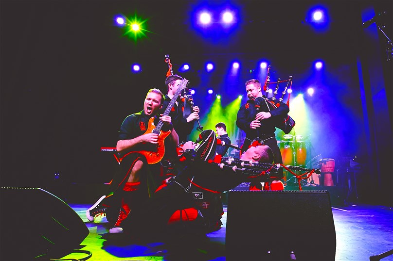 Red Hot Chilli Pipers 2021 Tour