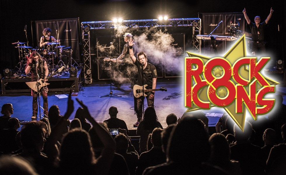 Rock Icons A Classic Rock Odyssey Playhouse Whitely Bay