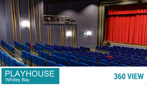 Playhouse Whitley Bay Seating Layout